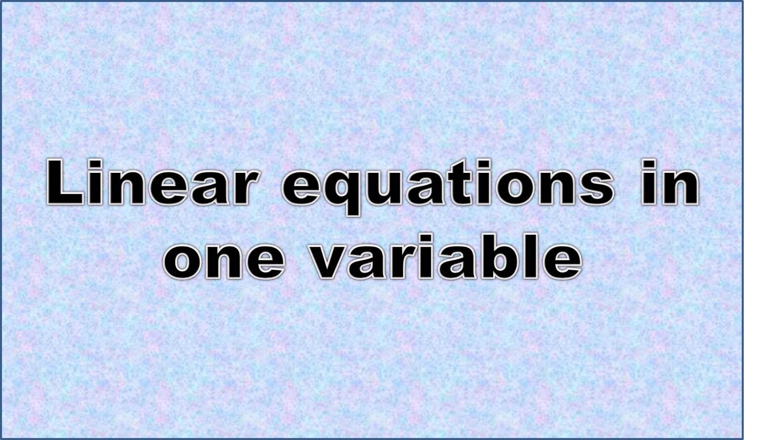 http://study.aisectonline.com/images/Intro to equations with variables on both sides.jpg