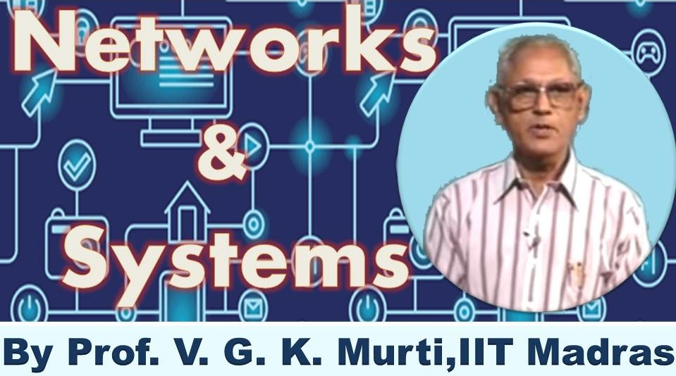 http://study.aisectonline.com/images/SubCategory/Video Lecture Series on Networks and Systems by Prof.V.G.K.Murti, IIT Madras.jpg